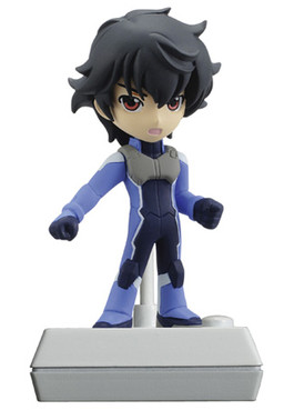 main photo of Gundam 00 2th Season Chibi Voice I-doll #2: Setsuna F. Seiei