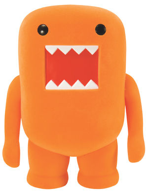 main photo of Domo-Kun Orange Flocked Figure Ver.