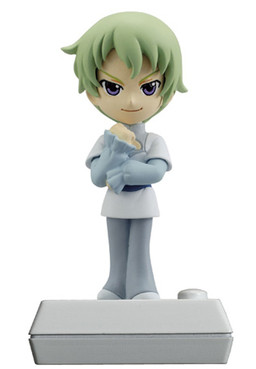 main photo of Gundam 00 2th Season Chibi Voice I-doll #2: Ribbons Almark