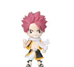 main photo of Fairy Tail Deformed Mini Figure: Natsu Dragneel