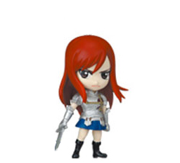 main photo of Fairy Tail Deformed Mini Figure: Erza Scarlet