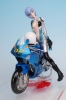 photo of Ayanami Rei with Motorcycle