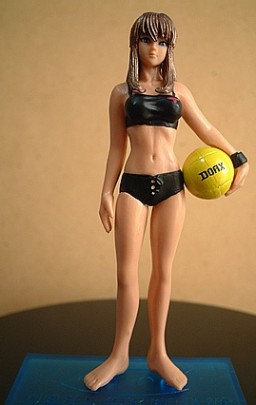 main photo of HGIF Dead or Alive Xtreme Beach Volleyball Capsule Toy Vol. 1: Hitomi