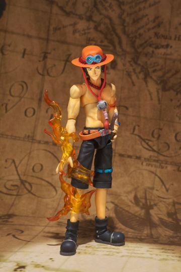 main photo of S.H.Figuarts Portgas D. Ace