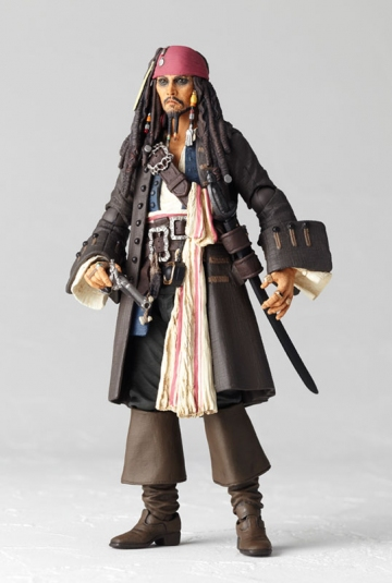 main photo of Sci-Fi Revoltech No.025 Jack Sparrow