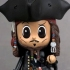 CosBaby: Pirates of the Caribbean /On Stranger Tides: Jack Sparrow (Captain Style)