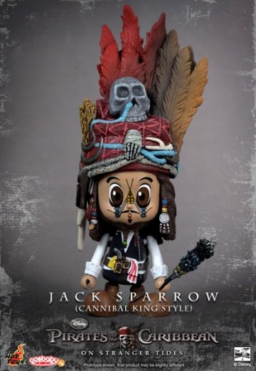 main photo of CosBaby: Pirates of the Caribbean /On Stranger Tides: Jack Sparrow (Cannibal King Syle)