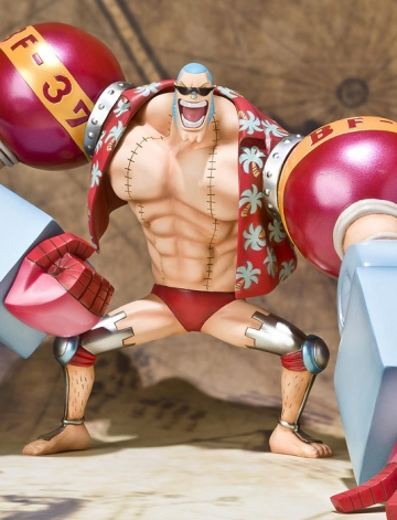 main photo of Figuarts Zero Franky The New World Ver.
