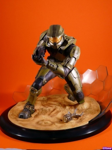 main photo of ARTFX Statue Master Chief Field of Battle Ver.