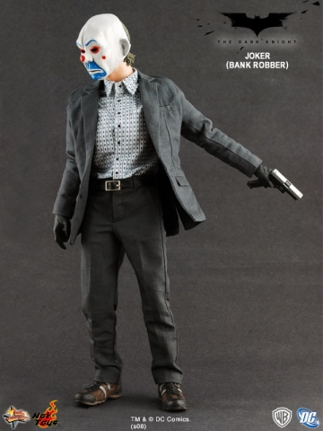 main photo of Movie Masterpiece The JOKER Bank Robber Ver.