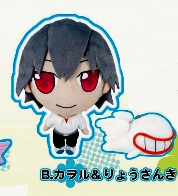 main photo of Petit Eva Plush Set: Kaworu Nagisa & Mass Production Eva
