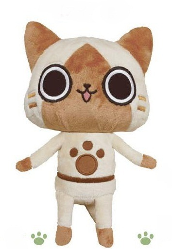 main photo of Monster Hunter Sitting Plush: Airou