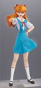 main photo of Evangelion PORTRAITS 9: Asuka Langley School Uniform Ver.