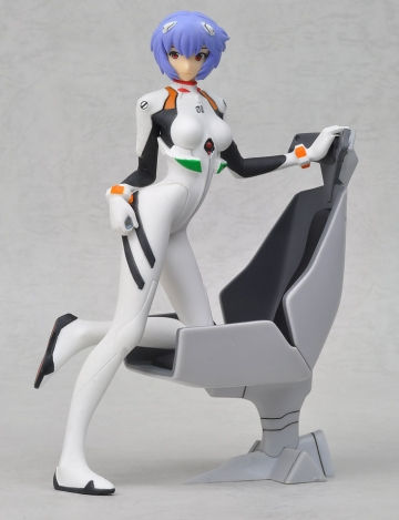 main photo of PM Figure Ayanami Rei Girl with Chair Ver.