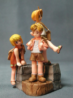 main photo of FMA Trading Arts Volume 2: Alphonse Elric, Edward Elric, Winry Rockbell