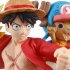 Stacking Vignette: Luffy, Chopper