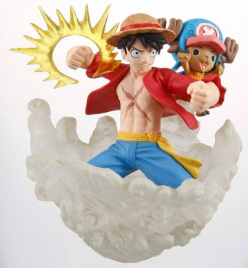 main photo of Stacking Vignette: Luffy, Chopper