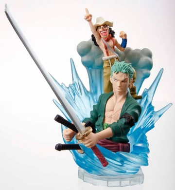 main photo of Stacking Vignette: Zoro, Usopp