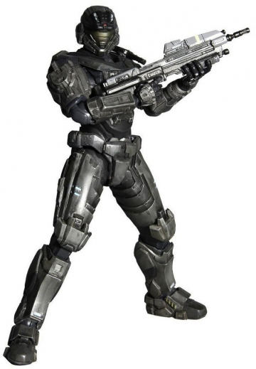 main photo of Halo: Reach Play Arts Kai #1: Noble Six