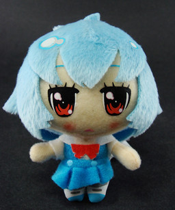 main photo of Petit Eva Plush Keychain Ayanami Rei