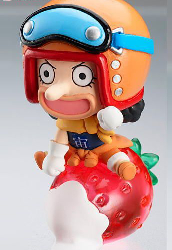 main photo of One Piece Petit Chara Land Strong World Fruit Party: Usopp
