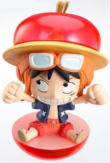 main photo of One Piece Petit Chara Land Strong World Fruit Party: Monkey D. Luffy