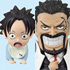 One Piece World Collectable Figure Vol. 0: Garp+Ace