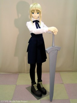 main photo of Mannequin doll: Saber School uniform ver. (Non-posable ver.)