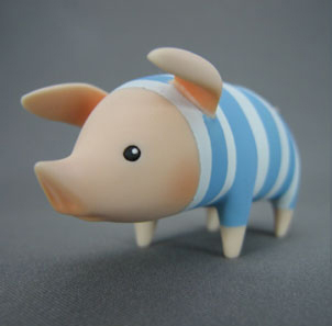 main photo of Monster Hunter Pooggy Collection: blue stripes ver.