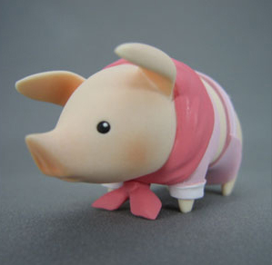 main photo of Monster Hunter Pooggy Collection: pink ver.