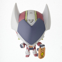 main photo of Yumekui Merry Cutie Figure Mascot: Full Helmet Boarder Guriccho