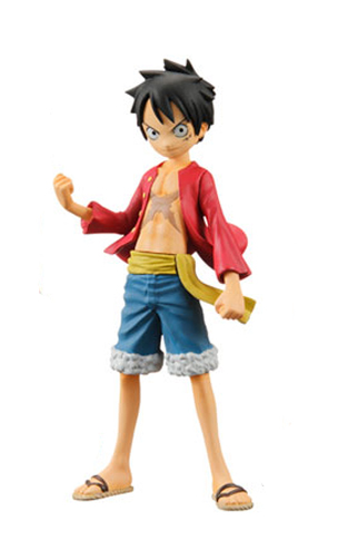 main photo of Half age characters One Piece: Monkey D. Luffy