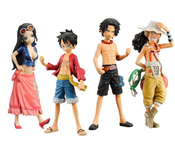 Half Age Characters One Piece Monkey D Luffy My Anime Shelf