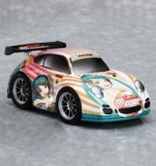main photo of Nendoroid Petite: Racing Miku Set - 2010 ver: GT Pull-Back Mini Car  - RQ 2 Ver.