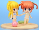photo of Nendoroid Petite: Nanoha & Fate - Summer Memories Set: Takamachi Nanoha