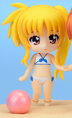 main photo of Nendoroid Petite: Nanoha & Fate - Summer Memories Set: Fate Testarossa