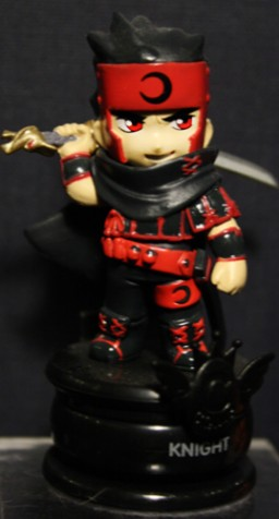 main photo of Clamp no Kiseki: Black Knight Kurogane Chess Piece