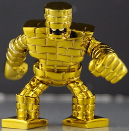 main photo of Metallic Monsters Gallery: Golden Golem