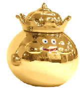 main photo of Metallic Monsters Gallery: Golden King Slime 25th Anniversary Ver.