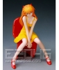 photo of Soryu Asuka Yellow Dress Sitting