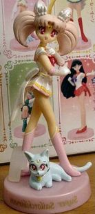 main photo of Doll Collection NEW ~Sailor Moon~: Super Sailor Chibi Moon & Diana