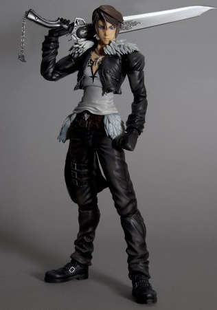 main photo of Play Arts Kai Squall Leonhart Dissidia Ver.