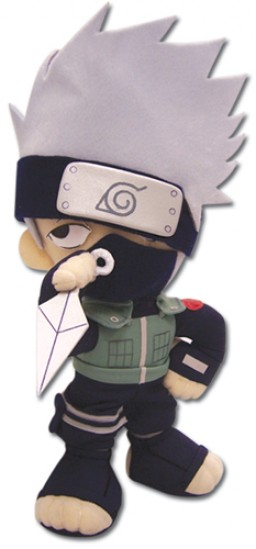main photo of Naruto Plush: Kakashi