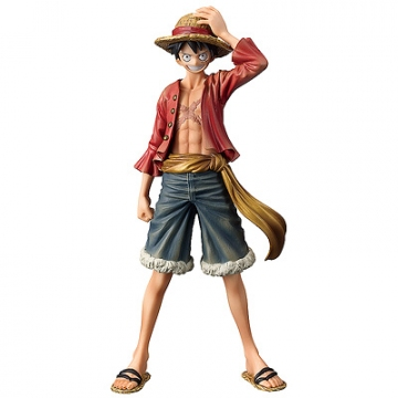 main photo of The Grandline Men DXF Figure Vol.10 Monkey D. Luffy