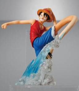 main photo of One Piece Attack Motions Vol. 3: Monkey D. Luffy