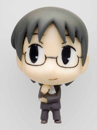 main photo of Cutie Figure Mascot: Nichijou: Sasahara