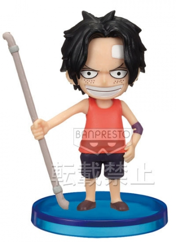 main photo of One Piece World Collectable Figure vol.20: Portgas D Ace