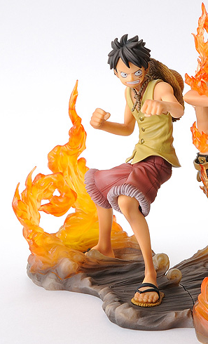 main photo of One Piece Brotherhood DX Figures Monkey D. Luffy
