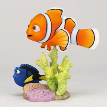 main photo of Revoltech Pixar Figure Collection No.001 Nemo and Dory