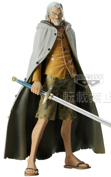 main photo of The Grandline Men DXF Figure Vol.6 Silvers Rayleigh